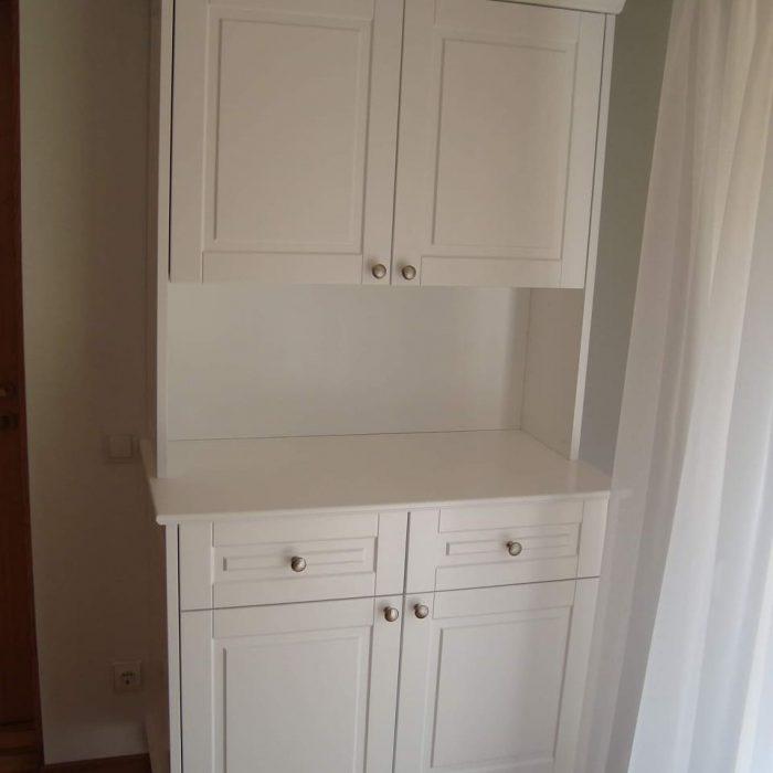 Nestandartiniai korpusiniai baldai arunobaldai komodos baldai